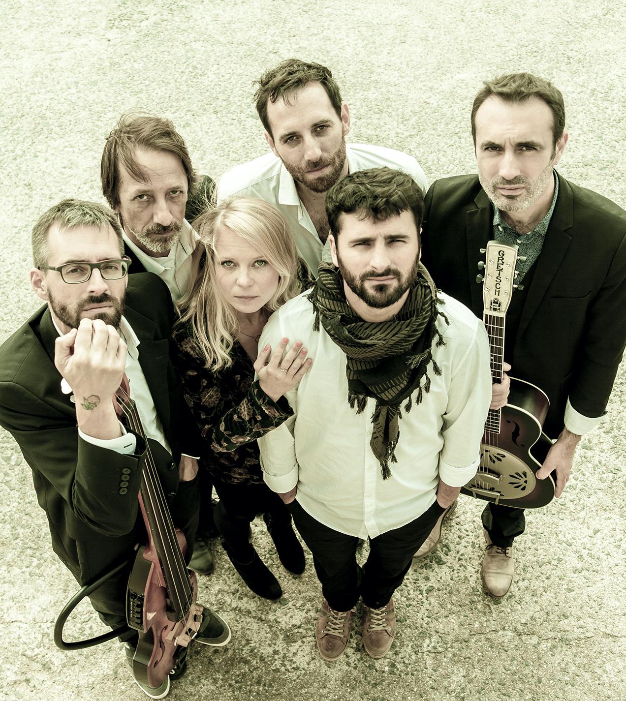 Groupe Boom Ditty accompagné par Landes Musiques Amplifiées